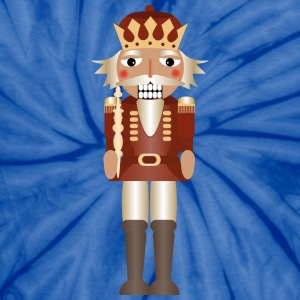 A nutcracker as a king with crown and scepter T-Shirts - Unisex Tie Dye T-Shirt