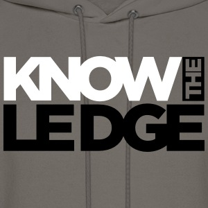 know the ledge Hoodies - Men's Hoodie