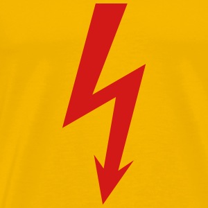 Electric sign lightning - Men's Premium T-Shirt