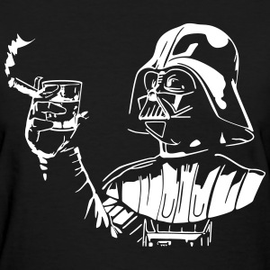 darth vader cigar and shot glass - Women's T-Shirt