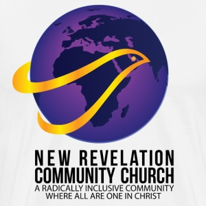 New Revelation Community Church Logo w/ Tagline T-Shirts - Men's Premium T-Shirt
