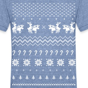 Ugly Sweater | Hump Day - Unisex Tri-Blend T-Shirt by American Apparel