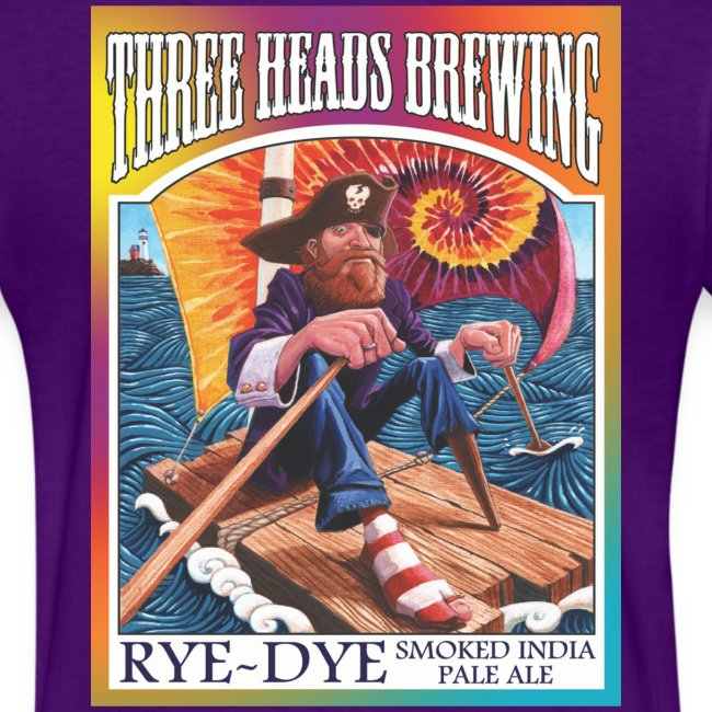 Rye Dye Smoked IPA - White Logo