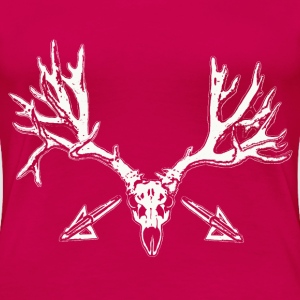 Broad head buck w - Women's Premium T-Shirt