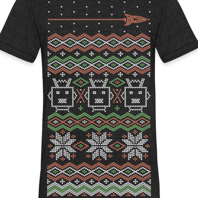 RF Holiday Tee - Unisex Tri-Blend T-Shirt by American Apparel