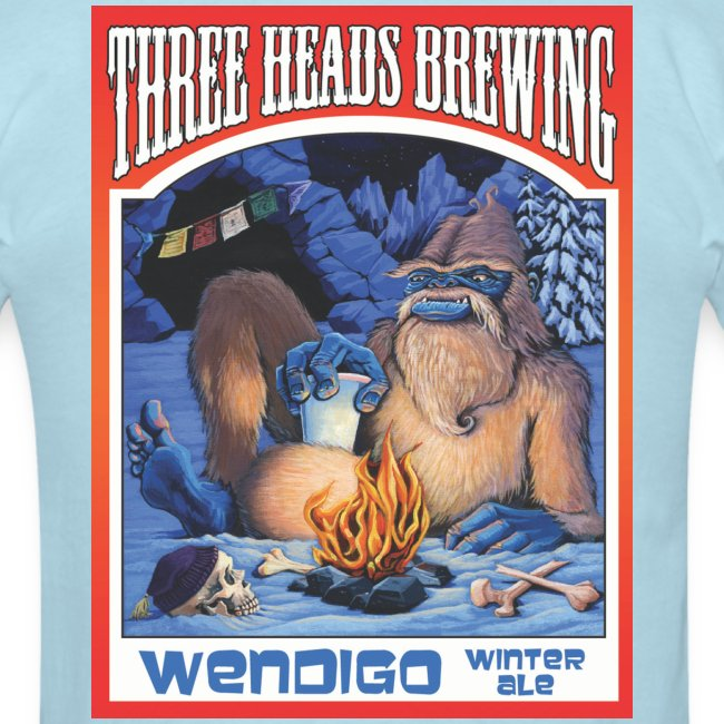 Wendigo Winter Ale - Black Logo