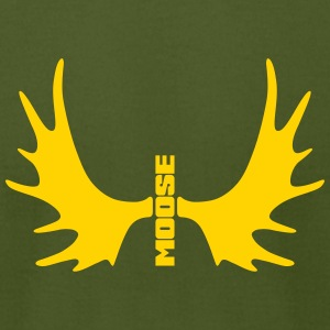 Alternative Moose - Men's T-Shirt by American Apparel