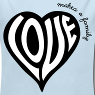 Design ~ Love Makes a Family - One Piece