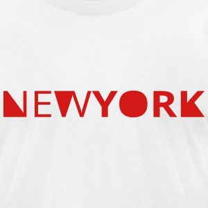 newyork T-Shirts - Men's T-Shirt by American Apparel