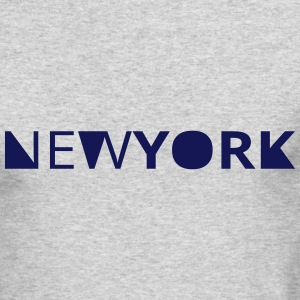 newyork Long Sleeve Shirts - Men's Long Sleeve T-Shirt by Next Level