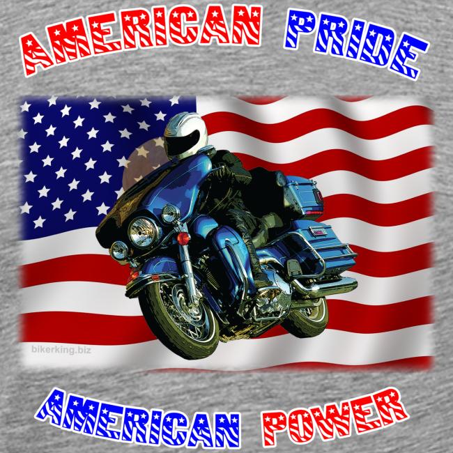 Men's Premium T Front AmPride AmPower