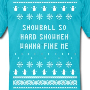 Sweater Shirt | Snowball So Hard - Men's T-Shirt by American Apparel