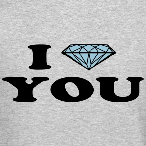 diamond love Long Sleeve Shirts - Crewneck Sweatshirt