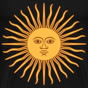 may sun from argentina fl - Men's Premium T-Shirt