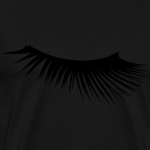 Eyelashes - Men's Premium T-Shirt