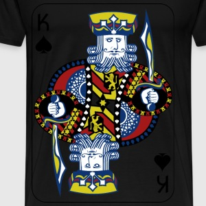 King of Spades - Men's Premium T-Shirt