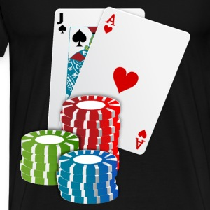 Cards and Chips - Men's Premium T-Shirt