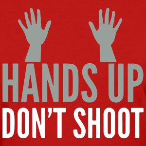 h.u.d.s. HANDS UP DONT SHOOT Women's T-Shirts - Women's T-Shirt