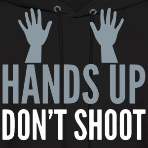 h.u.d.s. HANDS UP DONT SHOOT Hoodies - Men's Hoodie