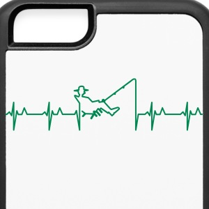 My heart beats for fishing (1c) Accessories - iPhone 6/6s Rubber Case
