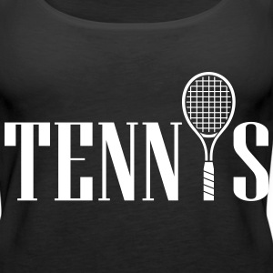 Tennis  Tanks - Women's Premium Tank Top