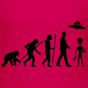evolution_of_man_alien_112014_a_1c Kids' Shirts - Kids' Premium T-Shirt