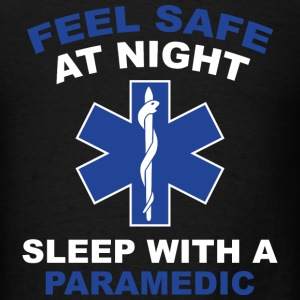 Feel Safe At Night - Men's T-Shirt