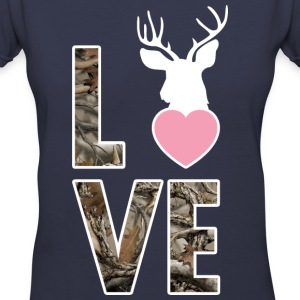LOVE Shirt - Country Closet Women's T-Shirts - Women's V-Neck T-Shirt