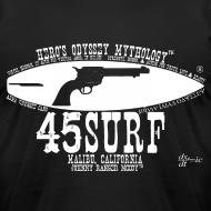 Design ~  RUGGED Men's 45SURF Hero's Odyssey Mythology American Apparel T-shirt!