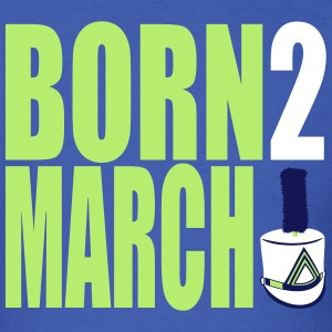 Born 2 March (Men's) - Men's T-Shirt