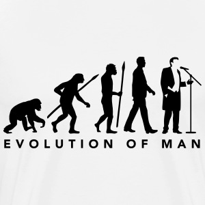 evolution_of_man_opera_singer_112014_b_1 T-Shirts - Men's Premium T-Shirt