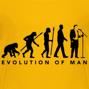 evolution_of_man_opera_singer_112014_b_1 Kids' Shirts - Kids' Premium T-Shirt