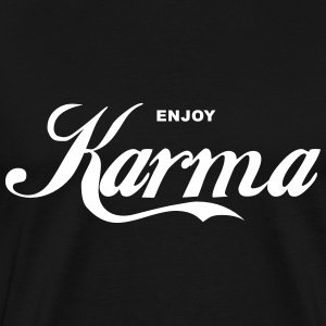 Enjoy Karma Men's Shirt - Men's Premium T-Shirt