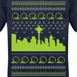 Sweater Shirt | Seattle Football - Men's T-Shirt by American Apparel
