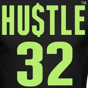 HUSTLE 32 Long Sleeve Shirts - Men's Long Sleeve T-Shirt by Next Level