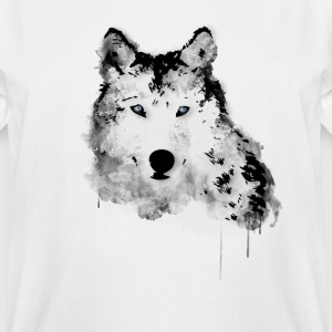 Painted Wolf T-Shirts - Men's Tall T-Shirt