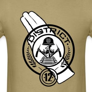 Hunger Games District 12 T-Shirts - Men's T-Shirt