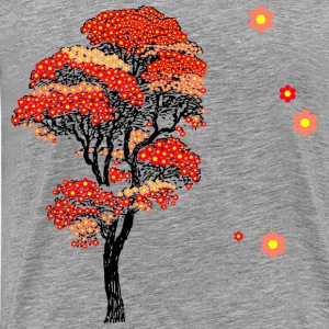 Japanese Cherry Blossom T - Men's Premium T-Shirt