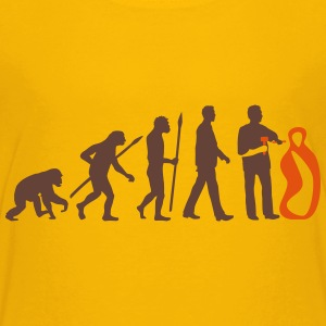 evolution_of_man_sculptor_112014_a_2c Kids' Shirts - Kids' Premium T-Shirt
