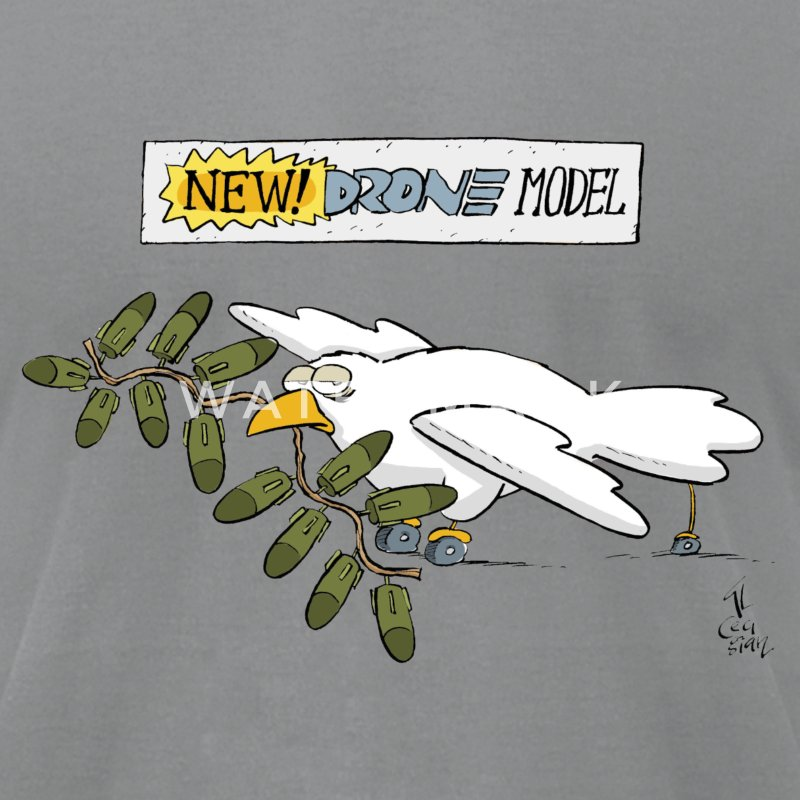 Drone T-Shirts - Men's T-Shirt by American Apparel