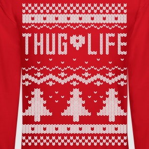 Ugly Thug Life Christmas Sweater - Crewneck Sweatshirt