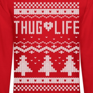 "Ugly ""Thug Life"" Christmas Sweater - Crewneck Sweatshirt"