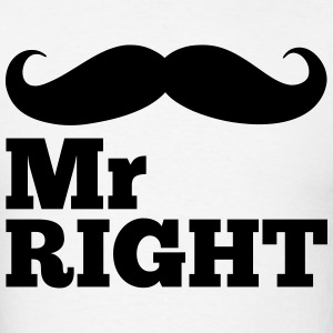 Mr Right  T-Shirts - Men's T-Shirt