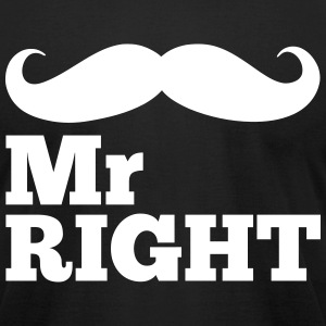 Mr Right  T-shirts - T-shirt pour hommes American Apparel