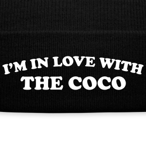 I'm in love with the coco Caps - Knit Cap with Cuff Print