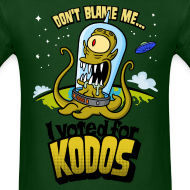 Design ~ The Simpsons: I Voted for Kodos (color)