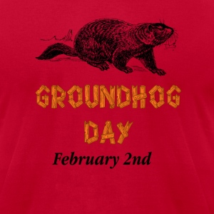 Ground Hog Day February 2nd T-Shirts - Men's T-Shirt by American Apparel