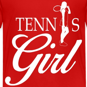 Tennis girl Baby & Toddler Shirts - Toddler Premium T-Shirt