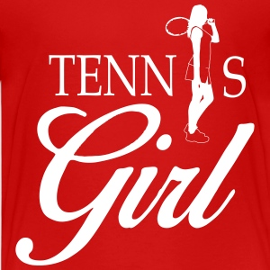 Tennis girl Kids' Shirts - Kids' Premium T-Shirt