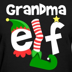 Grandma Elf Women's T-Shirts